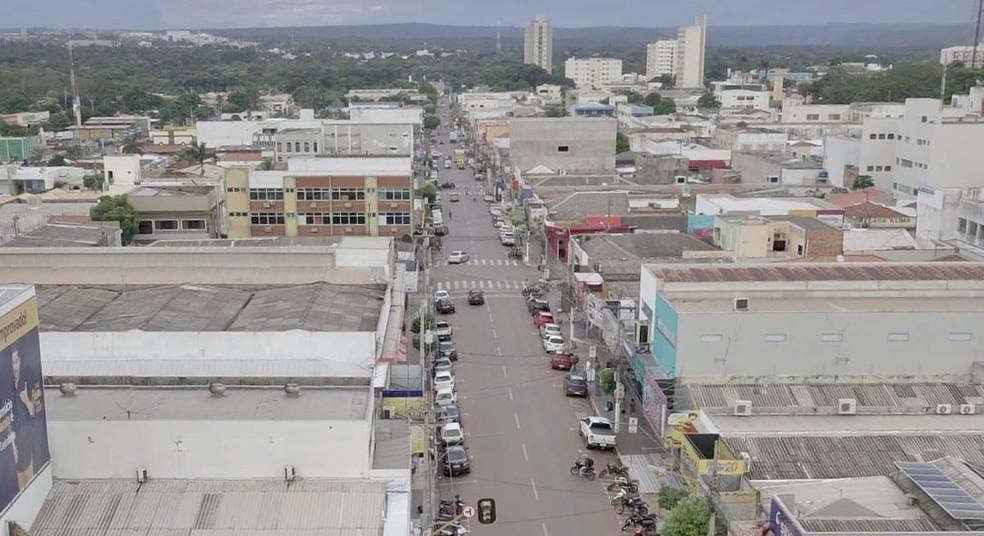 Covid-19: Comércios e shoppings são fechados em Rondonópolis (MT) — Foto: Divulgação