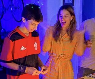 Carolina Dieckmann e José   Reprodução