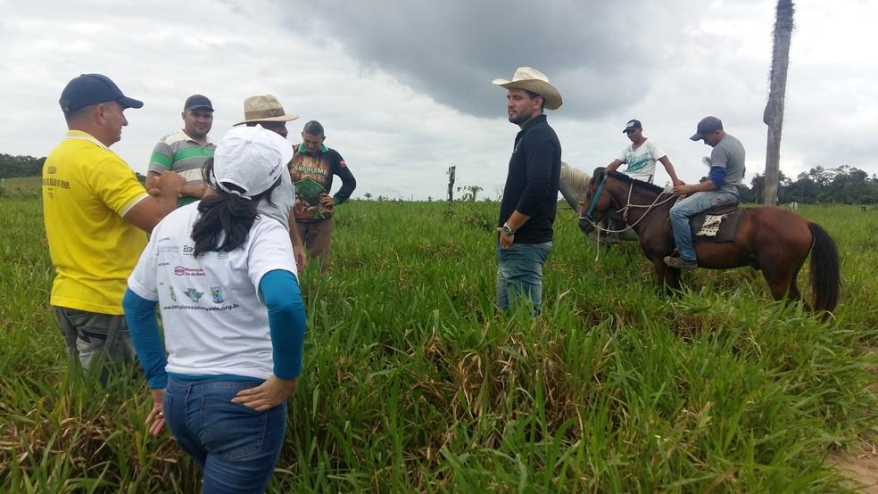 Ao todo são 14 fazendas que implantaram o modelo sustentável de pecuária (Foto: Programa Territórios Sustentáveis/Divulgação)