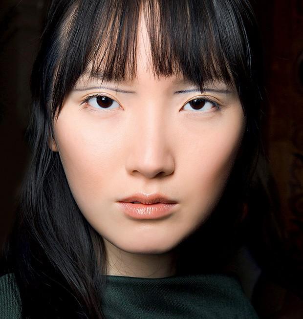 Beleza delineador gráfico - Kristina Fidelskaya (Foto: Imaxtree)