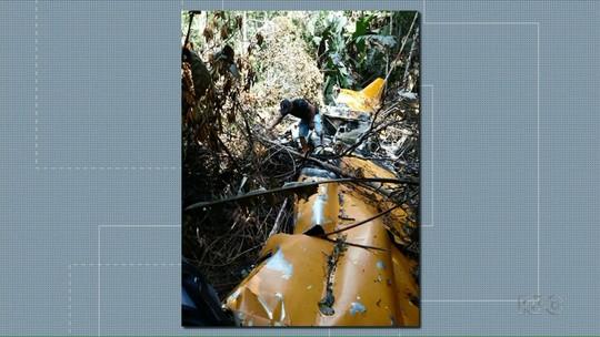 Piloto que caiu com avião no fim de semana é encontrado com vida