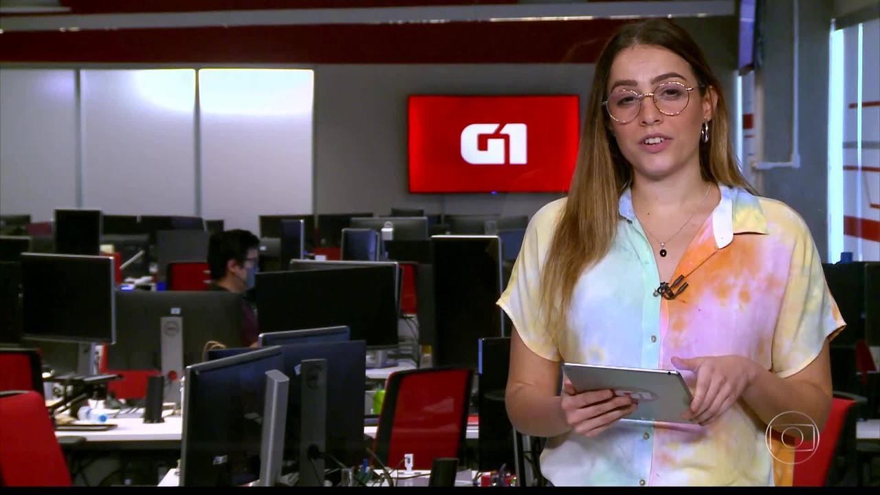 G1 em 1 Minuto: MC Marcinho conta que passou 11 dias em CTI por causa da Covid-19