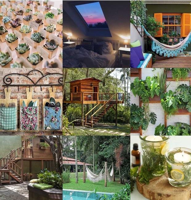 As fotos mais curtidas no Instagram de @casaejardim em 2018 têm verde de sobra (Foto: Bestnine.com/Reprodução)
