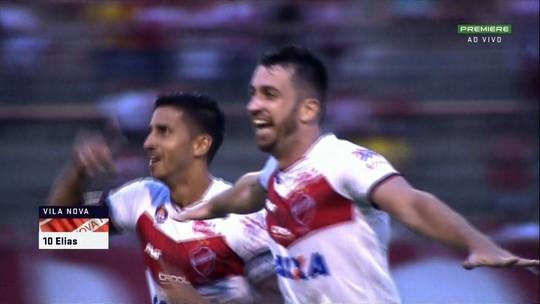 Rocha muda mais de meio time, avança as linhas do CRB, mas perde do Vila