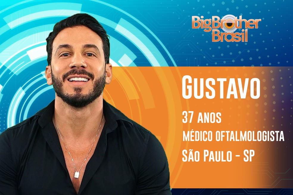 Gustavo tem o ritual de ir ao cabeleireiro uma vez por mês — Foto: TV Globo