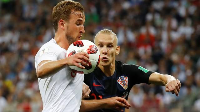 Kane e Vida em Croácia x Inglaterra