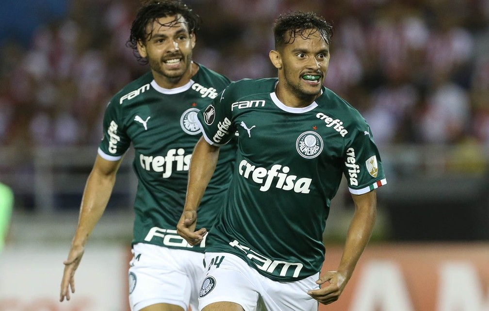 Gustavo Scarpa vive bom momento no Palmeiras, após ano turbulento — Foto: Cesar Greco/Ag Palmeiras