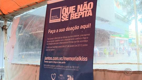 Na reta final, vaquinha para memorial às vítimas da Kiss ainda precisa de recursos para meta mínima