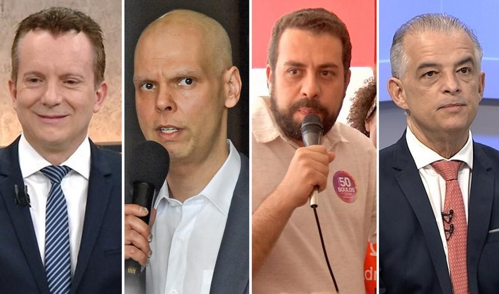 Eleições 2020: candidatos a prefeito de São Paulo desfilam em carro aberto  na véspera do primeiro turno | Eleições 2020 em São Paulo | G1