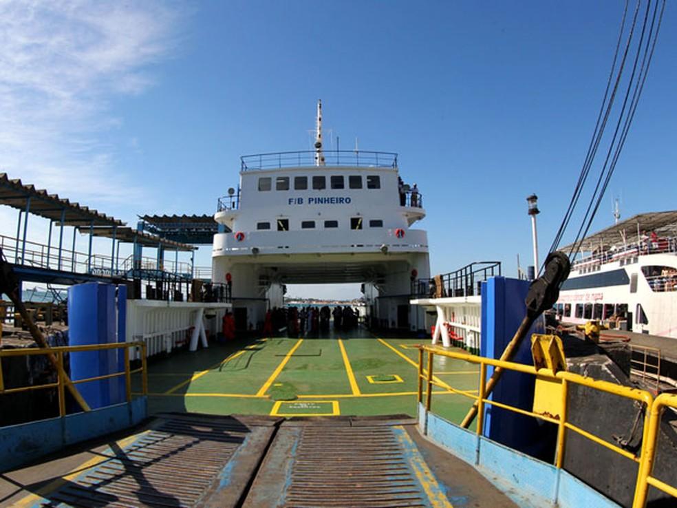 Ferry Boat Pinheiro, onde a idosa morreu — Foto: Manu Dias/GOVBA