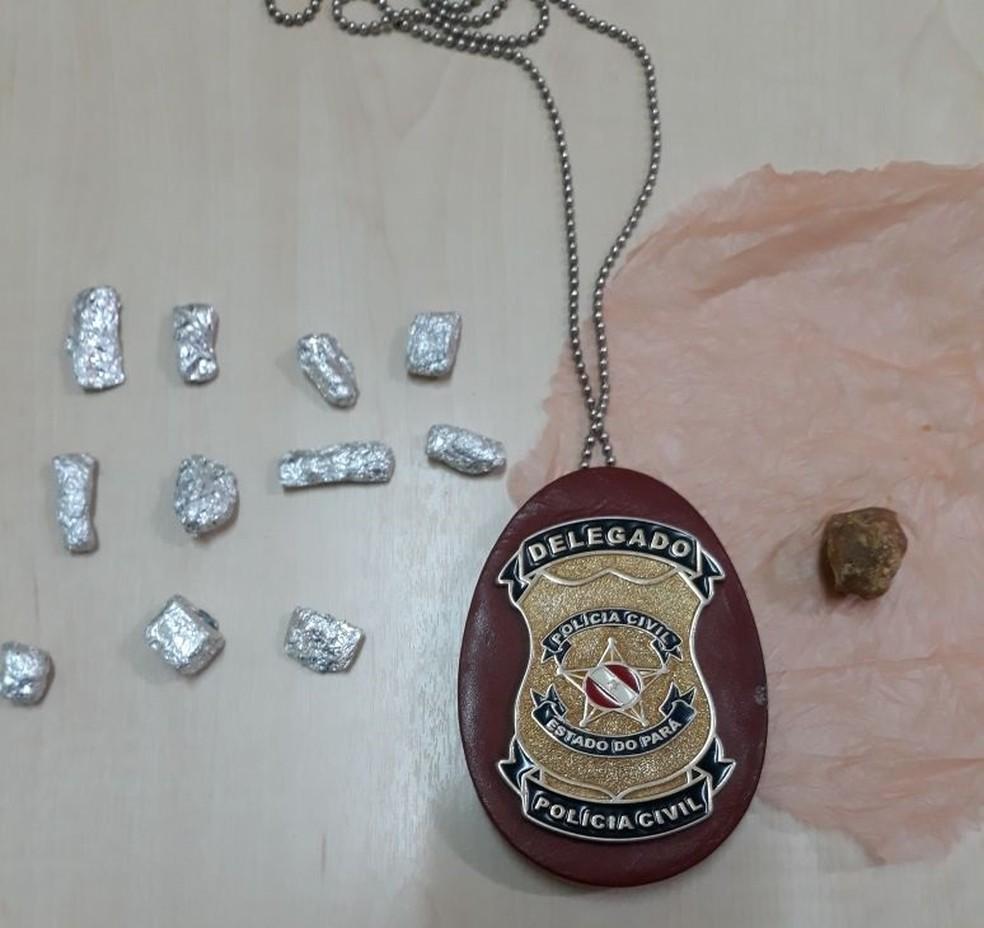 -  Apreensão de drogas  Foto: Polícia Civil