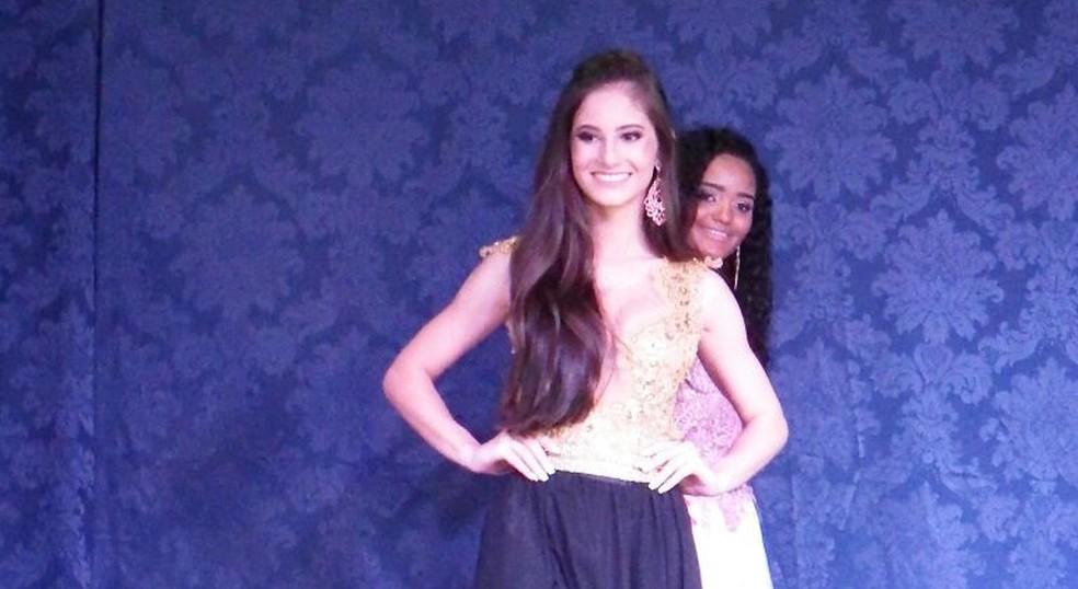 Bruna Zucco foi eleita Miss Altônia em 2017 (Foto: Prefeitura de Altônia/Divulgação)