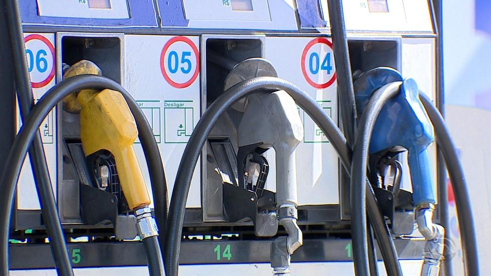 Gasolina — Foto: Reprodução/RBS TV