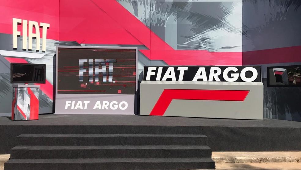 Brothers precisavam completar a palavra 'Argo' no painel  — Foto: Fernanda Almeida/Gshow