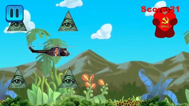Dacilo Adventures é jogo que coloca presidenciável à frente de seus próprios meses (Foto: Reprodução)