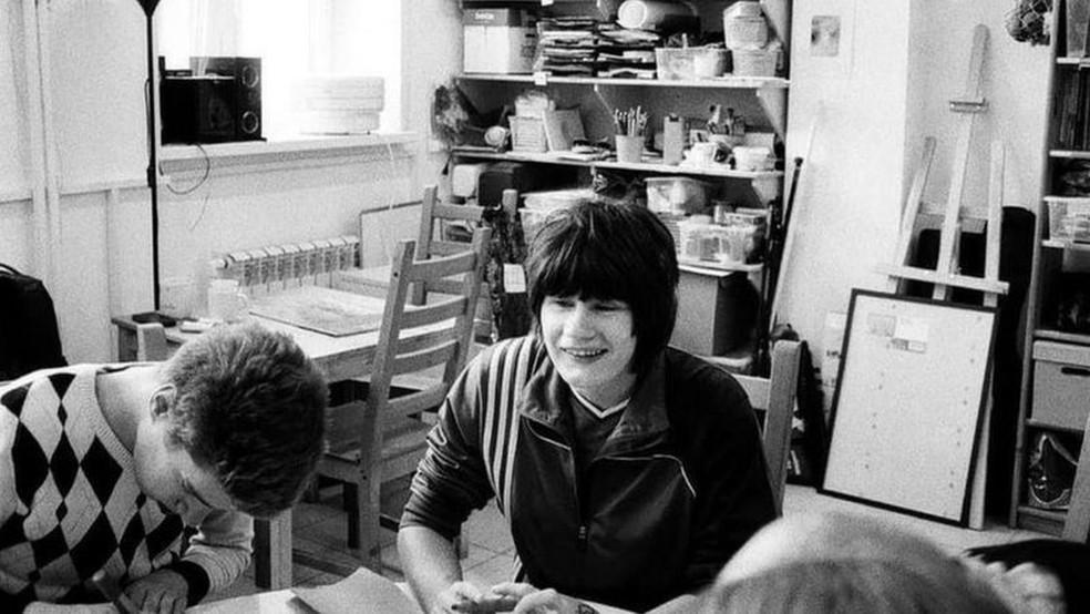 Nina passou boa parte da vida em uma instituição psiquiátrica — Foto: Aleksandr Ivanov/BBC