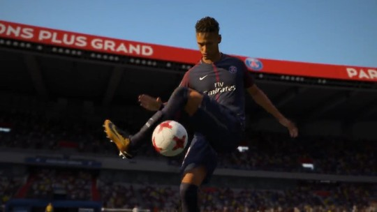 Novo trailer de gameplay do Fifa 18 mostra Neymar com camisa do PSG