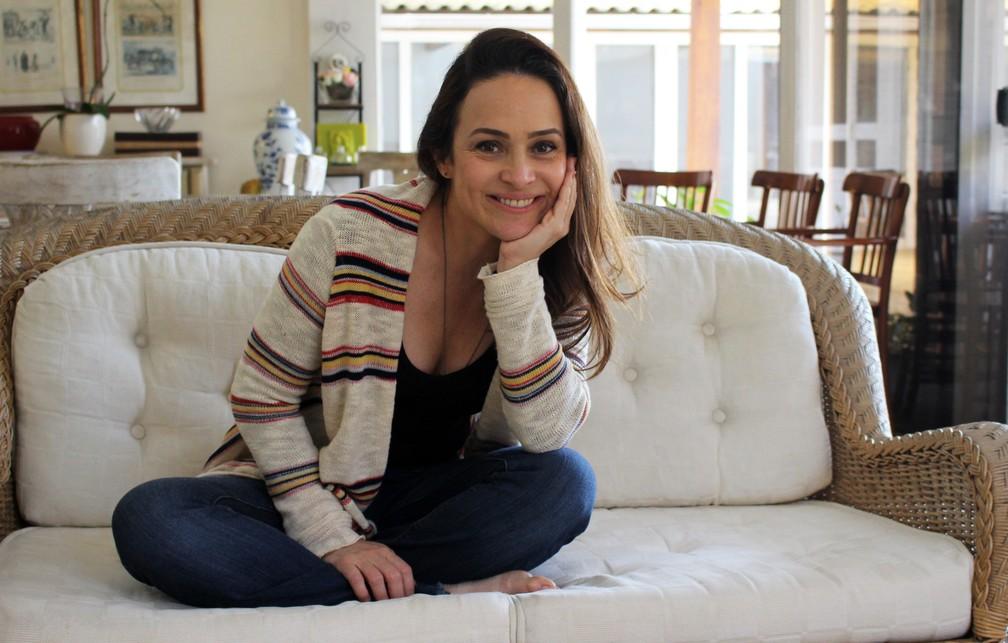 Para Gabriela, medo e insegurança também são interessantes para o ator. 'Afinal de contas, quando a gente está com essa adrenalina, se esforça muito para aquilo ser incrível', diz.  (Foto: Anny Ribeiro / Gshow)