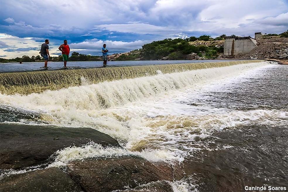Barragem de Oiticica, em Jucurutu — Foto: Canindé Soares