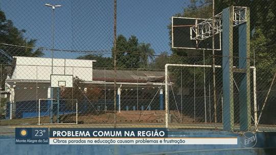 Regiões de Campinas e Piracicaba têm problemas em 45% das obras de educação com verbas federais