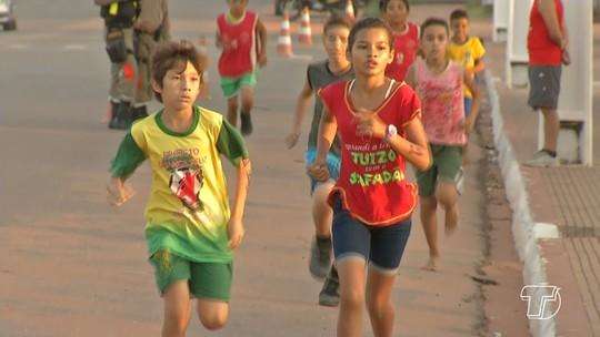 Em Santarém, 9ª edição da Minimaratona das Crianças é realizada no feriado