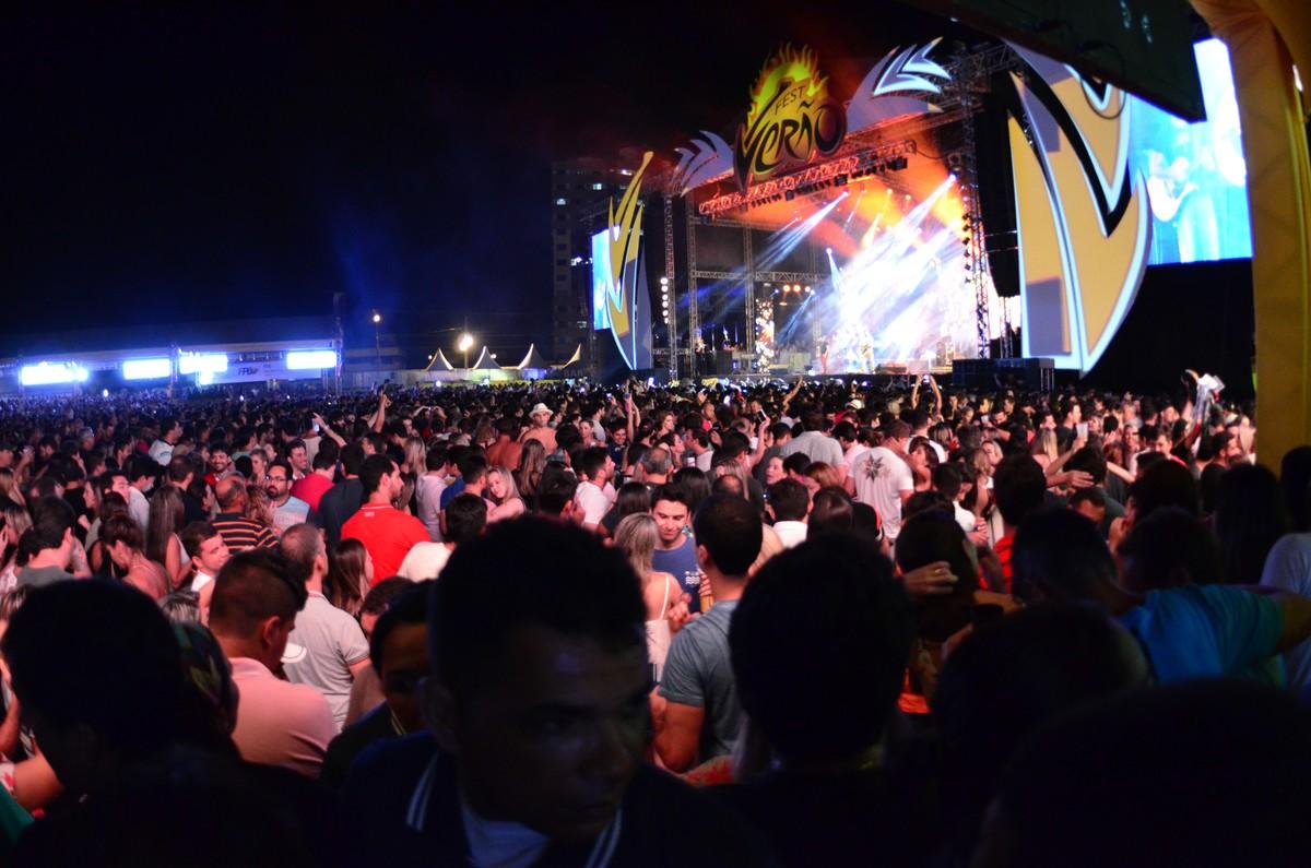 Adolescentes precisam de autorização para entrar no Fest Verão Paraíba 2018