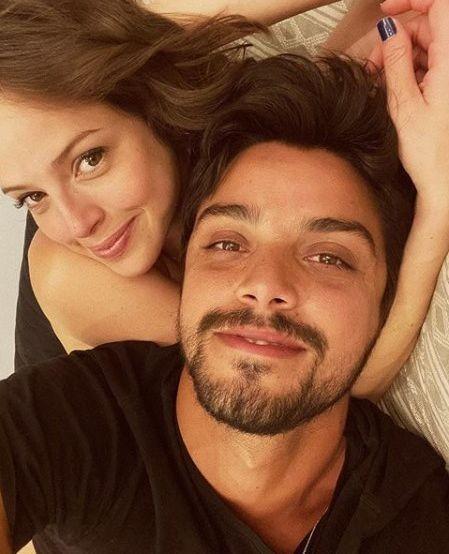 Agatha Moreira e Rodrigo Simas (Foto: Reprodução)
