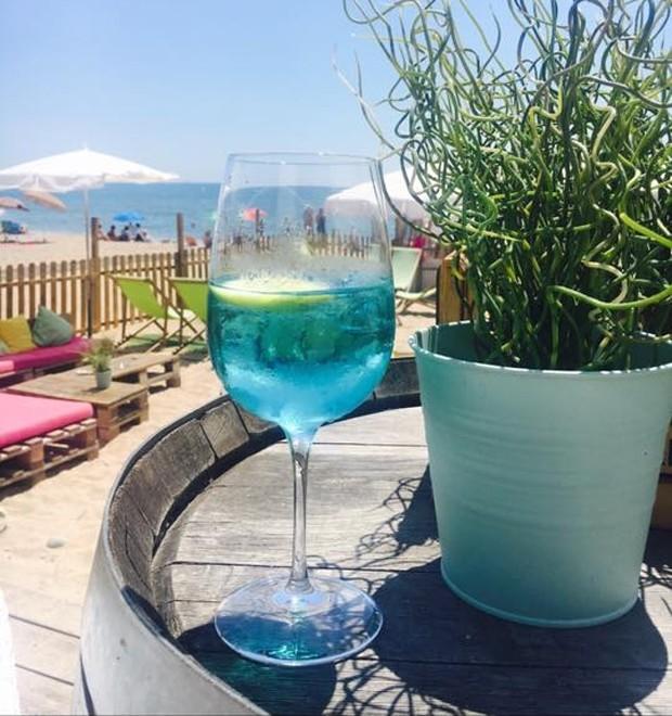 Vinho azul: bebida mantém as características da tradicional bebida (Foto: Divulgação )
