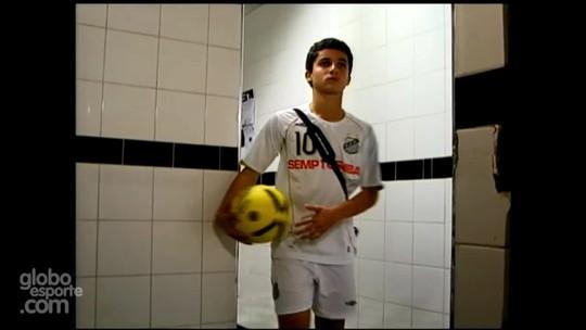 Por R$ 900 mensais, Jean Chera assina contrato com o Santos; vídeo