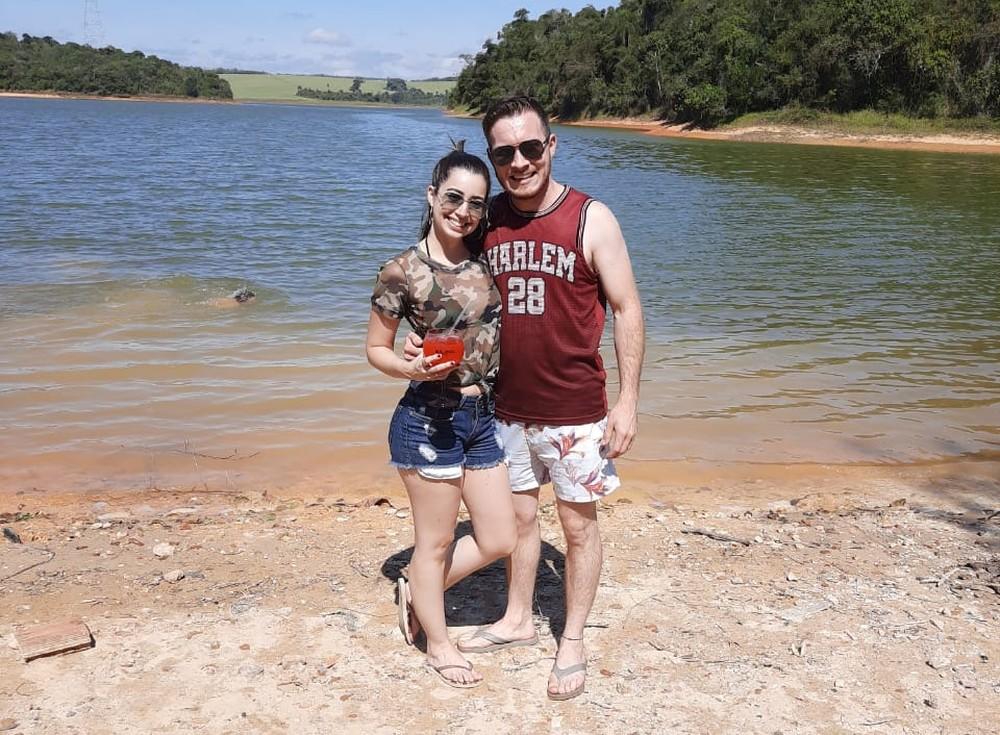 Empresário tirou foto com a noiva 5 minutos antes de morrer afogado em represa