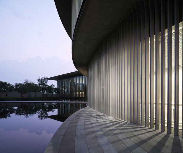 "Tadao Ando projeta museu circular na China para expressar ""harmonia"" (Foto: Museu HEM ©HEM)"