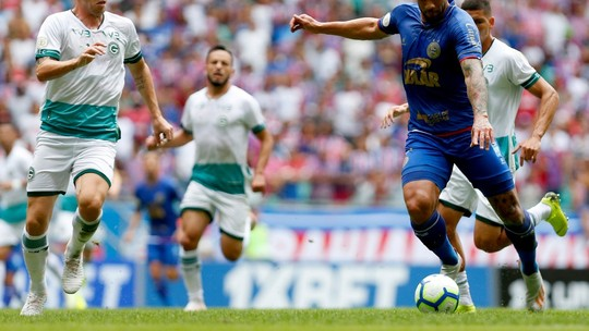 Veja os melhores momentos do jogo entre Bahia e Goiás