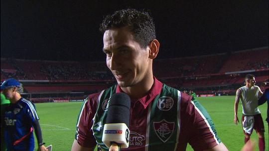 Ganso diz que vitória do Fluminense representa muito para luta contra o rebaixamento
