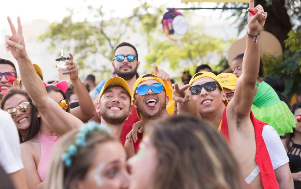 96365ef687 ... Região de Ribeirão Preto tem blocos de Carnaval — Foto: Érico Andrade/G1