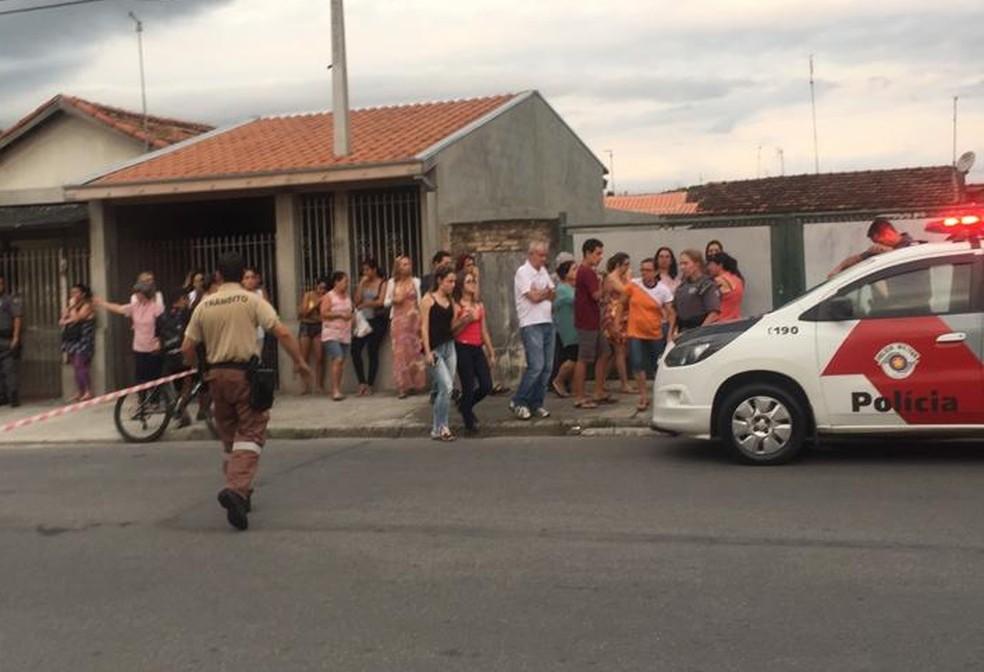 Mulher é morta por marido na Vila Santos em Caçapava — Foto: Arquivo pessoal