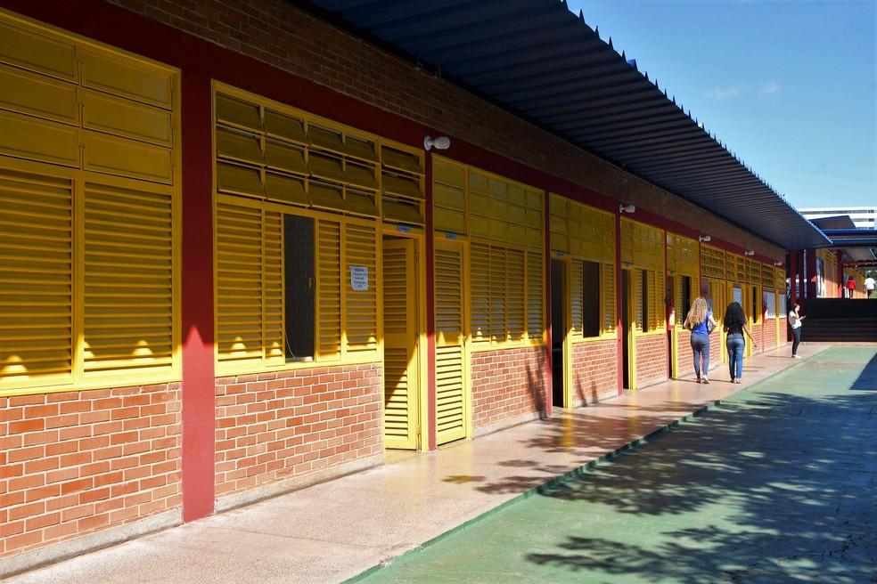 Escola pública do Distrito Federal — Foto: Mary Leal/Secretaria de Educação