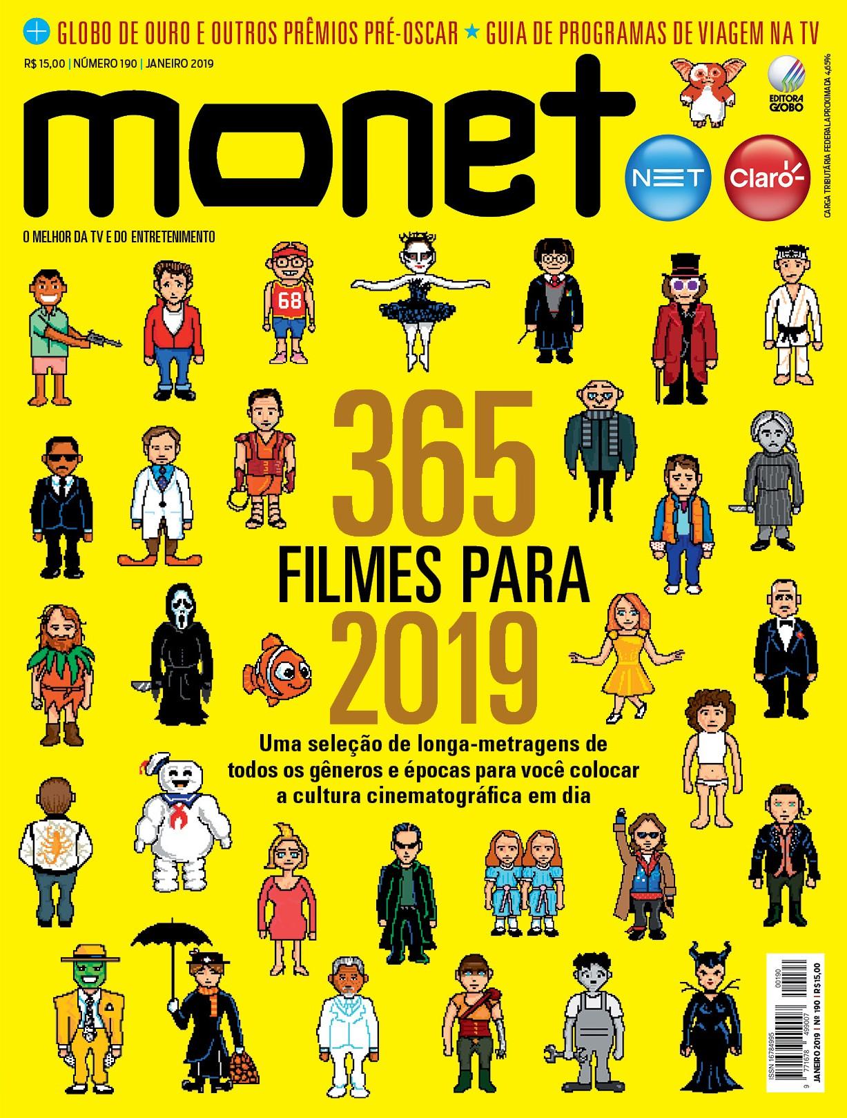 Revista Monet - Edição 190 - Janeiro/2019 (Foto: Revista Monet)