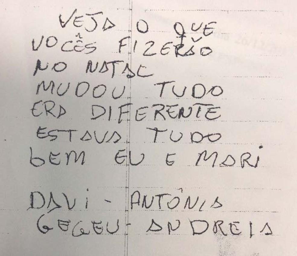 Ex-marido que matou servidora do Detran em Salvador foi encontrado com bilhete (Foto: Divulgação/Polícia Civil)