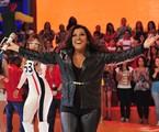 Regina Casé no 'Esquenta!' | Alex Carvalho/TV Globo