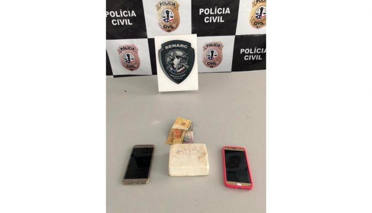 Casal é preso após ser flagrado traficando drogas no Anel Viário, em São Luís