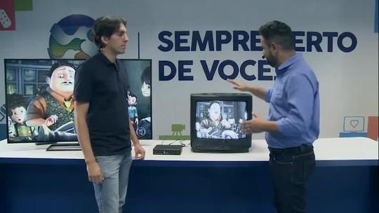 Aprenda a sintonizar o sinal digital da TV Asa Branca em uma TV de tubo
