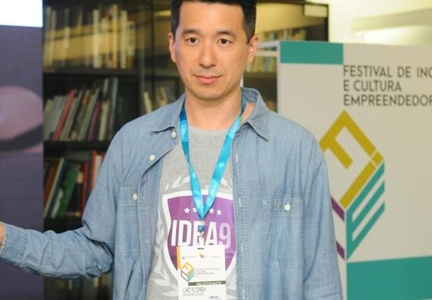 Prof. Liao Yu Chieh, sócio-fundador da IDEA9 e professor do Insper (Foto: Rafael Jota)