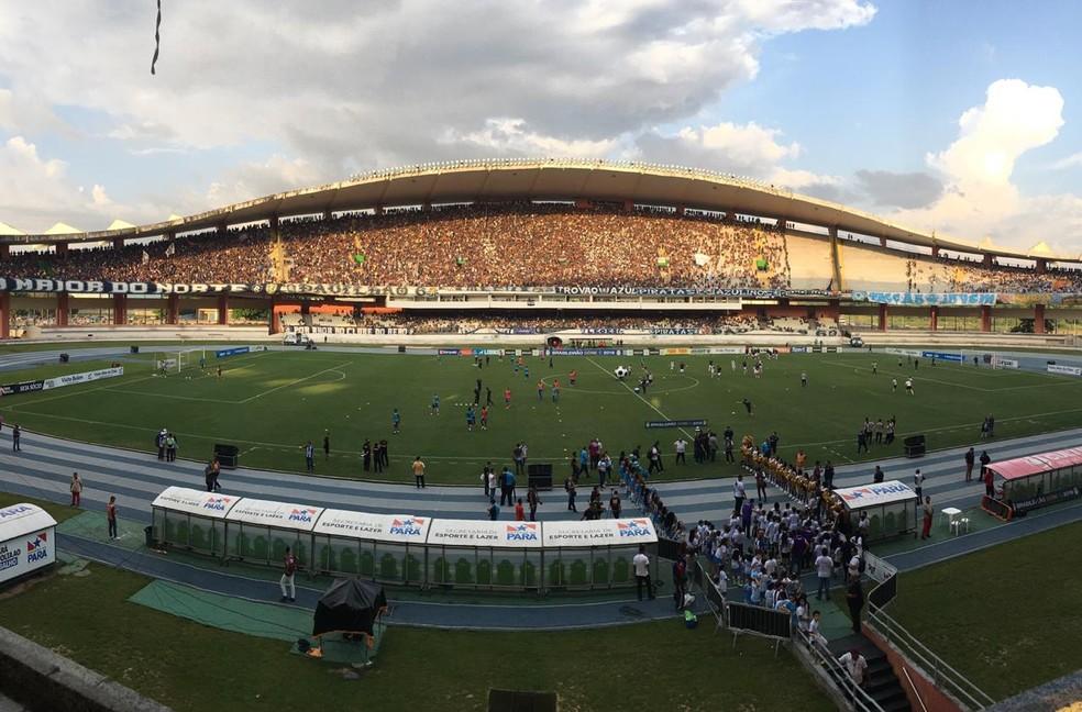 Paysandu empata com o Remo, se classifica e elimina o rival — Foto: Robério Vieira