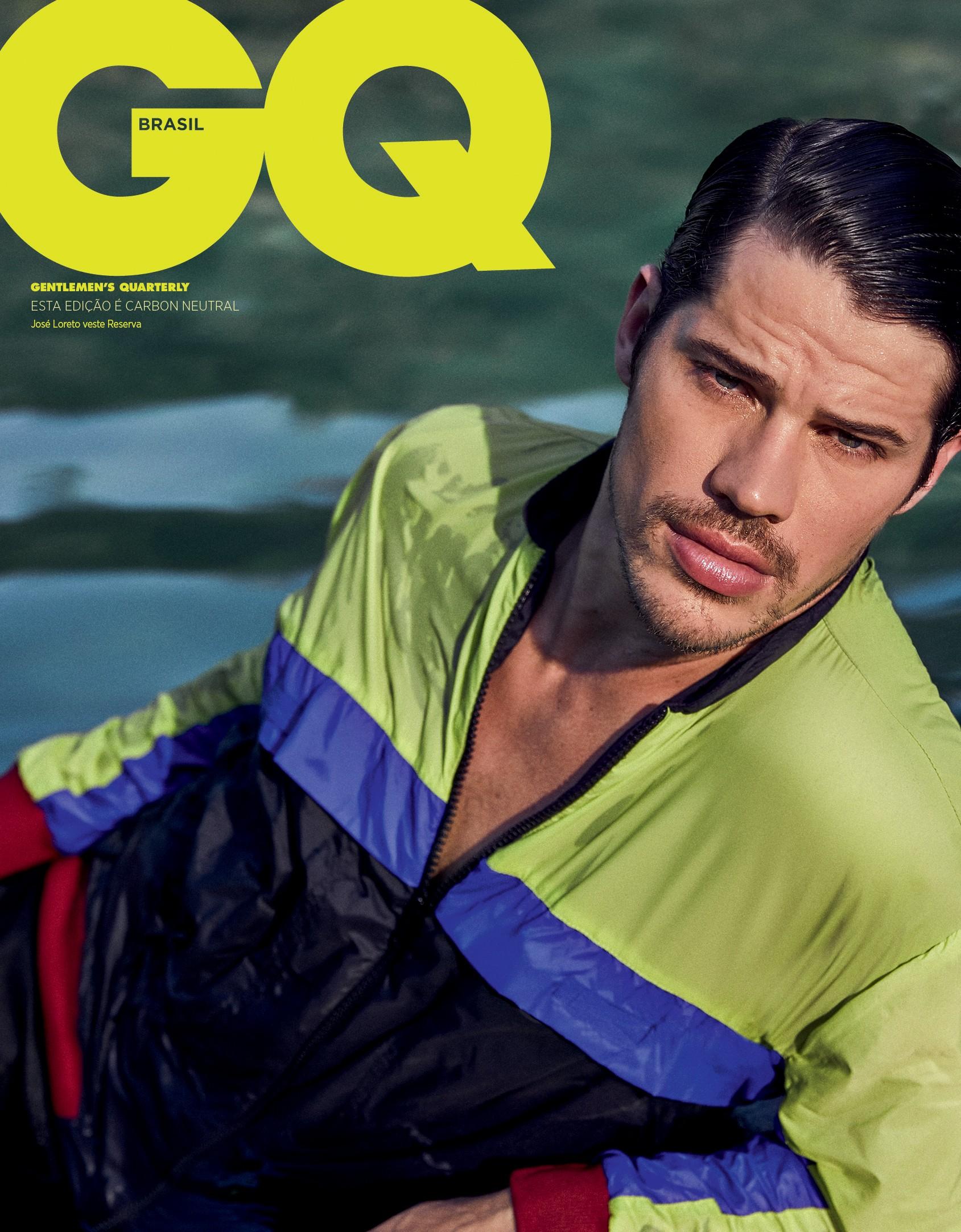 José Loreto na capa da #GQRio, a cara do verão (Foto: Pedro Loreto)