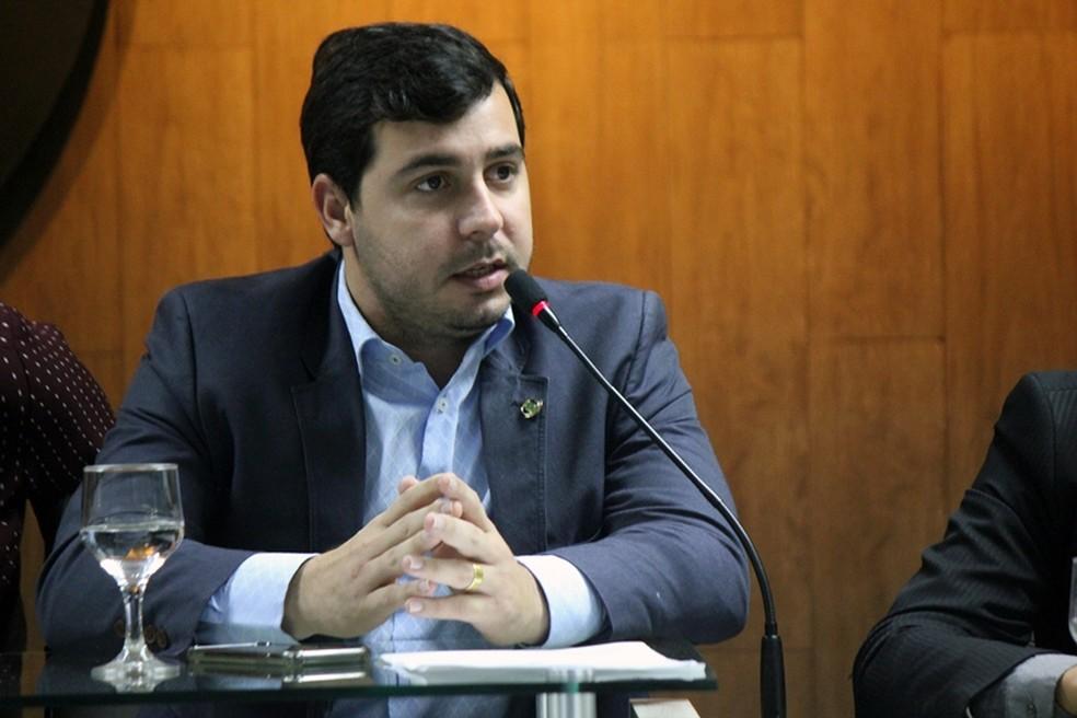 Segundo o juiz Vinícius Costa Vidor, Renan Maracajá integrava organização criminosa — Foto: Divulgação/ Câmara Municipal de Campina Grande