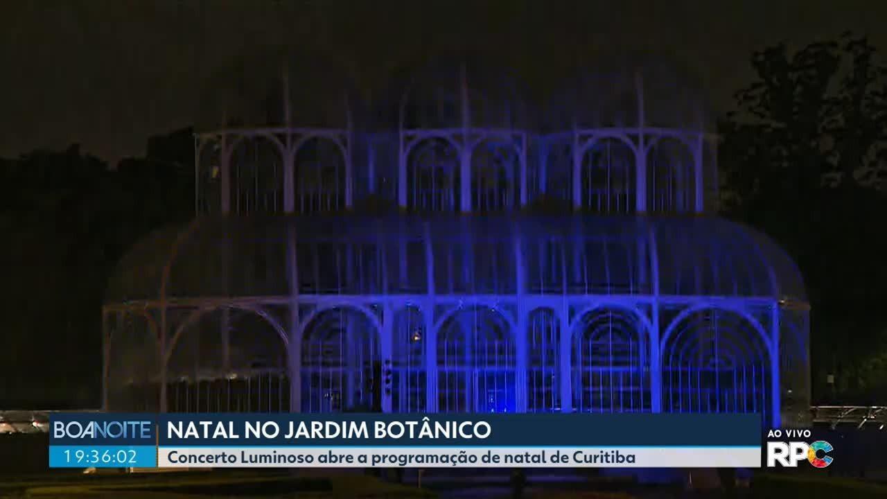 Concerto luminoso vai abrir a programação de natal de Curitiba