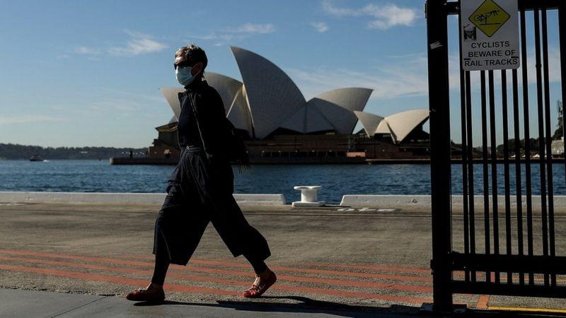 BBC Sydney faz lockdown de duas semanas (Foto: AFP/GETTY IMAGES via BBC)