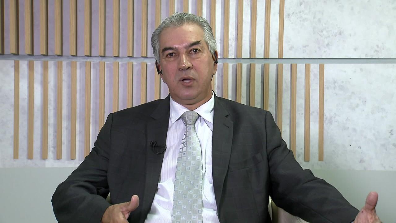 Governador do MS, Reinaldo Azambuja, elogia reforma da Previdência
