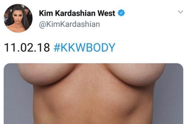 O post apagado pela socialite Kim Kardashian em meio à comoção com o tiroteio nos Estados Unidos (Foto: Twitter)