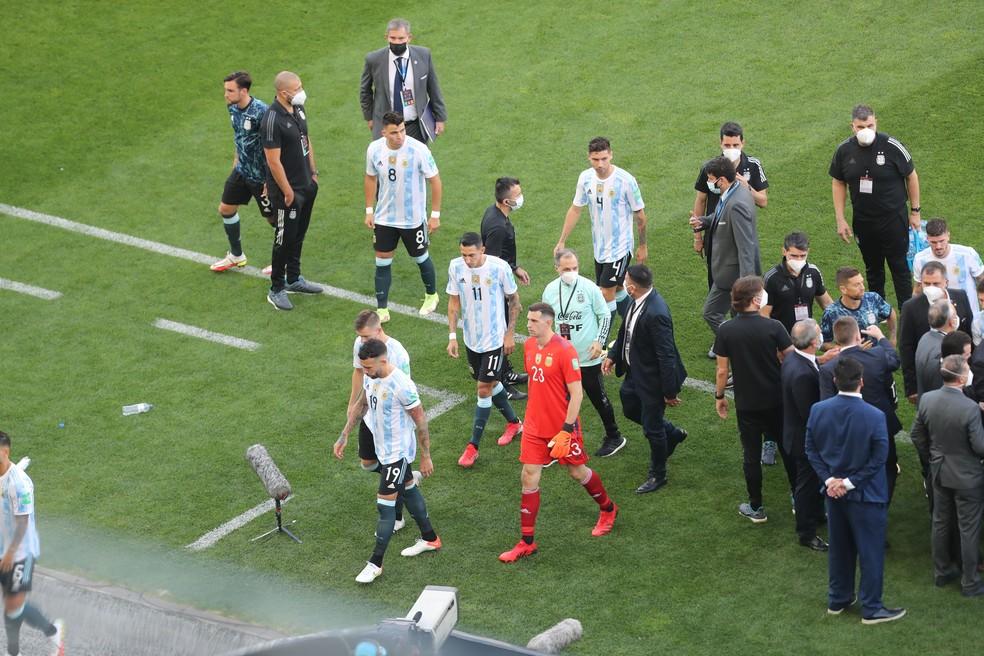 Brasil x Argentina  — Foto:  ALEX SILVA/ESTADÃO CONTEÚDO